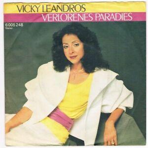 Vicky-Leandros-Verlorenes-Paradies-Hilf-mir-durch-die-Nacht-7-034-Single-1982