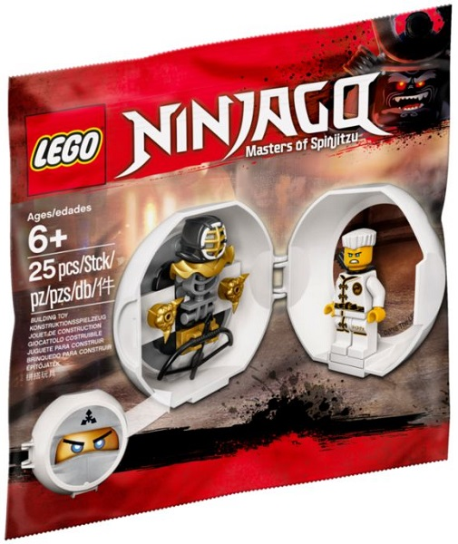 NEW LEGO sealed in its polybag Zane/'s Kendo Training Pod polybag 5005230