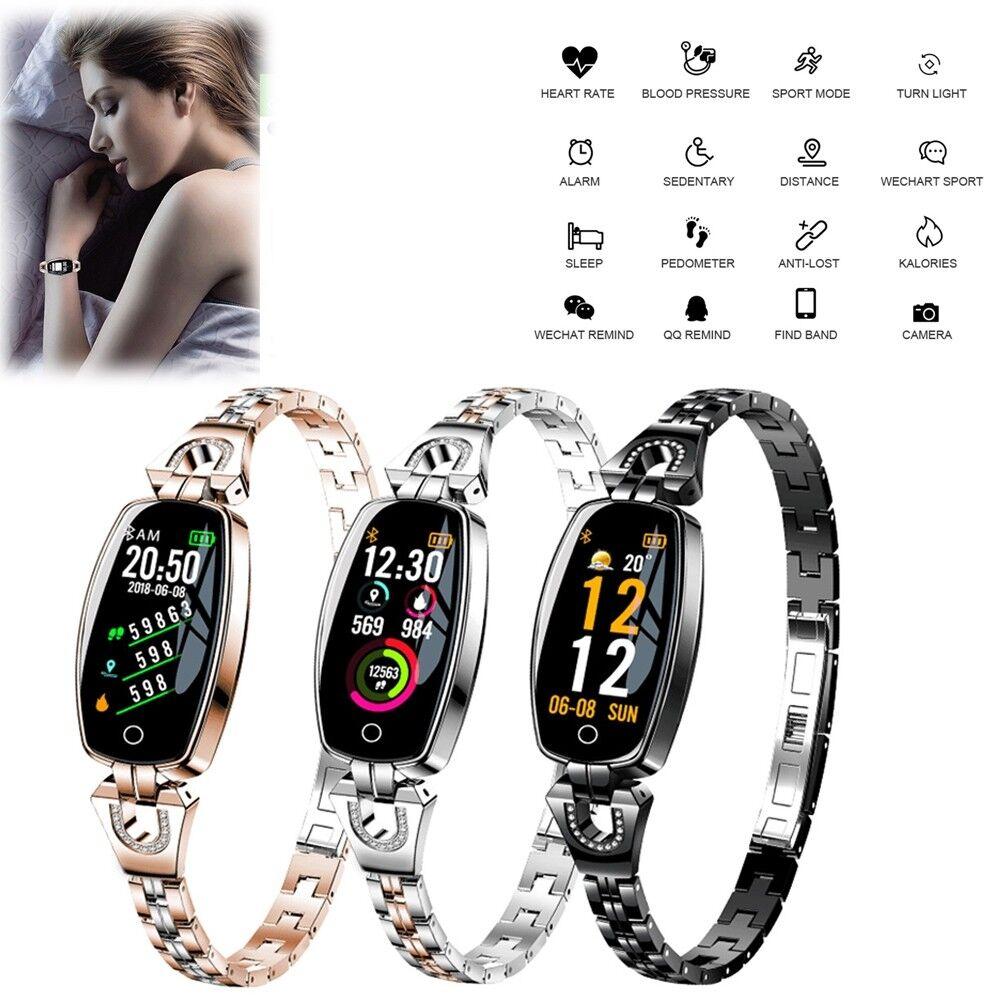 Women Girl Fitness Tracker Pedometer Bluetooth SmartWatch Heart Rate Monitoring bluetooth Featured fitness girl heart monitoring pedometer rate smartwatch tracker women