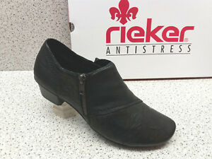 Rieker Ridotto Premium r308 pumps pelle Premium nero ® Calze qBqF6f