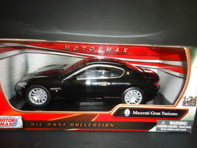 Motormax Maserati Gran Turismo Nero 1/24
