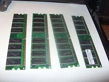 4gb PC3200 DDR 400mhz 184p DESKTOP MEMORY LOW DENSITY NON-ECC RAM 8====> 4 X 1GB