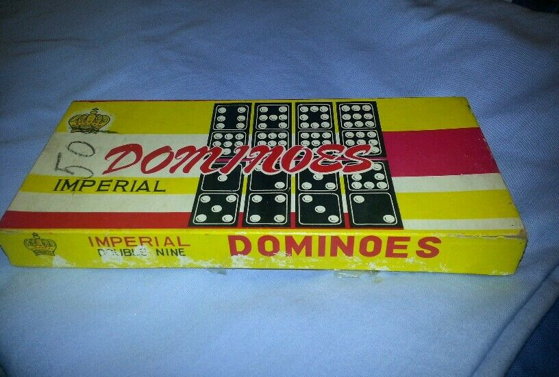 New in Box Imperial Dominoes Double Nine
