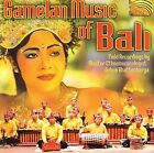 Gamelan Music of Bali by Various Artists (CD, Feb-2002, Arc Music)
