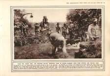 1915 Austrian Howitzer Team Bridge Destruction