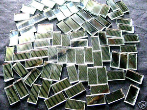 50-Mosaic-MIRROR-Tiles-2cm-x-1cm-Perfect-For-Easy-Borders