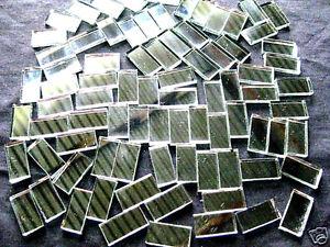 50-Mosaic-MIRROR-Tiles-2cm-x-1cm-Perfect-For-Easy-Borders