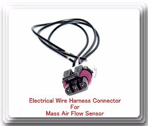 3 Blades Pigtail Connector Wire Harness of M Air flow Sensor ... on ford maf sensor extension harness, maf wiring to nissan, mass air flow sensor harness, 1g to 2g maf harness,