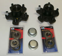 Trailer Stub Axle Hub And Bearing Kit For Rhi Stub Axle Pairs