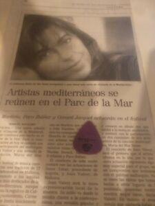 Maria del mar bonet.  Martyirio,  Paco Ibañez.. Eytc.