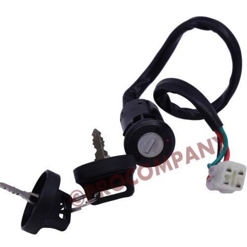 Ignition Key Switch ft Honda TRX450ER 2006-2011 2012 2013 2014 OEM 35100-HP1-003