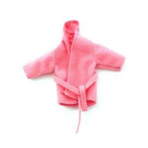 Dolls House 4308 kuscheliger Bademantel rosa  1:12 für Puppenhaus NEU! #