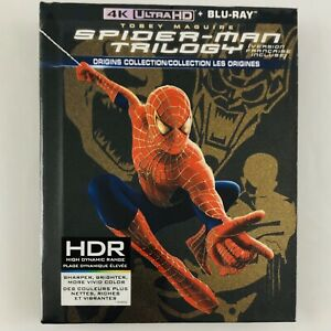 Spider-Man-Trilogy-Origins-Collection-1-2-3-4K-UHD-Blu-ray-Collectors-Edition