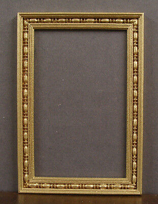 ARCH  TOP  MIRROR ~ Handcrafted ~ Jim Coates ~ Dollhouse ~ Room Box ~ 1:12 scale
