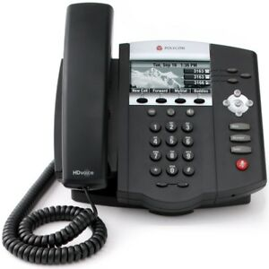Polycom-Soundpoint-IP450-3-Line-SIP-Phone-Telephone-Clearance-Cheap-99p
