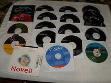 Lot of 18 computer disks