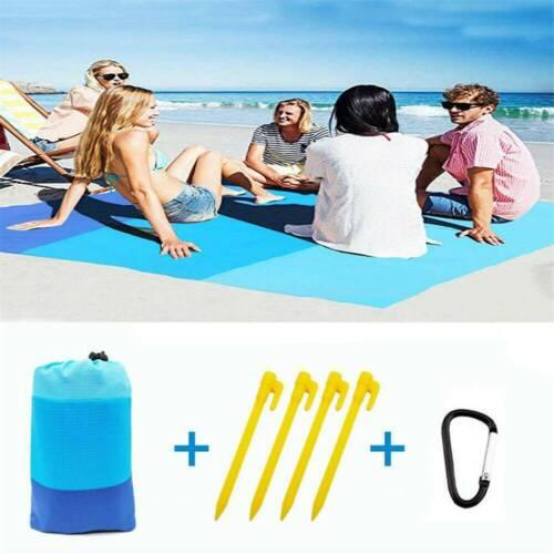 Schnell Trocknende Universal Picknick Stranddecke im Freien Sanddicht Reisematte