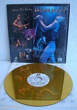 Bon Jovi | Keep the Faith | Laserdisc PAL | LD: Sehr Gut | Cover: Gut