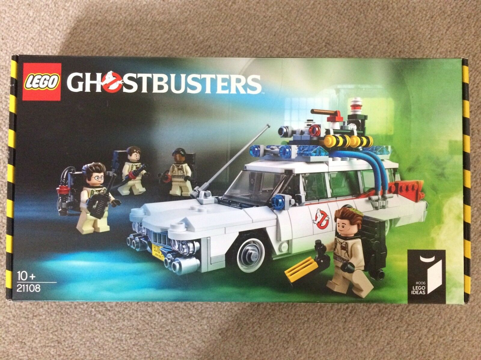 Neuf dans sa boîte  Real  LEGO Ghostbusters Ecto - 1 & Figures Set - 21108