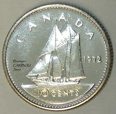 1976 Canada Proof-Like 10 Cents