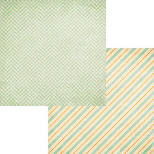 Fancy Pants Happy Go Lucky 12x12 Scrapbook paper collection 12 pieces