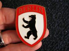 BREMEN VW HOOD CREST BADGE ACCESSORY BUG BEETLE COX SPLIT OVAL BREZEL HEB KFER
