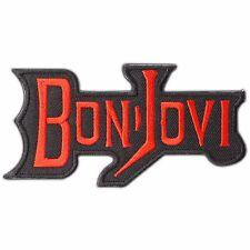 BON JOVI Rock Rocker Band Music Iron On Patches Jacket T Shirt Vest Jeans #M0148