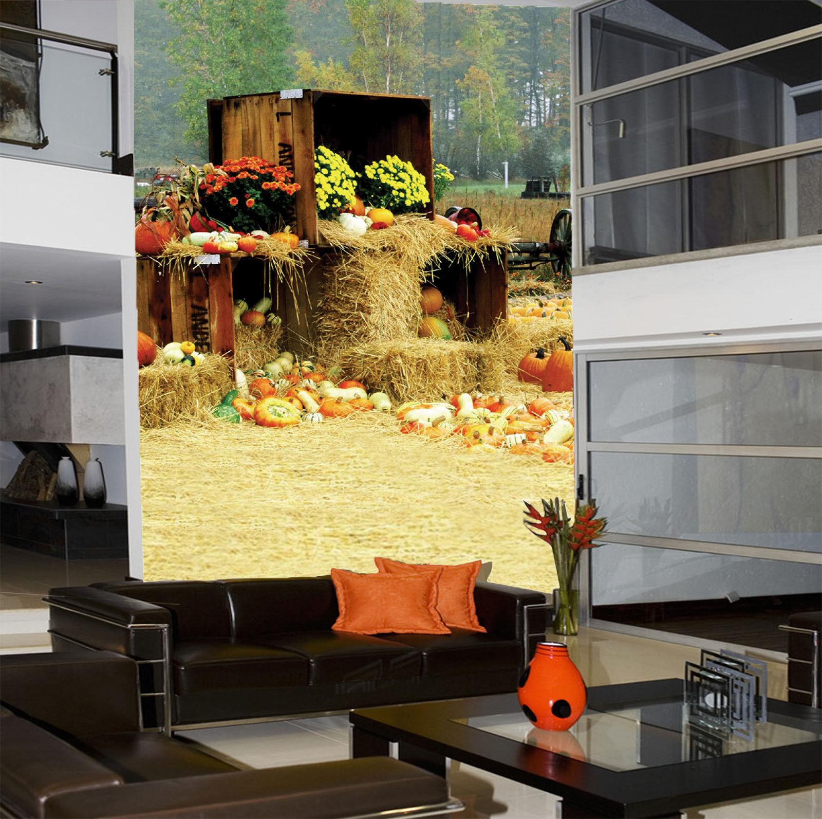 3D Kürbis Blaume Auto 75 Tapete Wandgemälde Tapete Tapeten Bild Familie DE Summer   Erschwinglich    Für Ihre Wahl    Sale