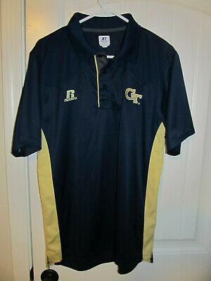 Georgia Tech Yellow Jackets Striped Polo Shirt