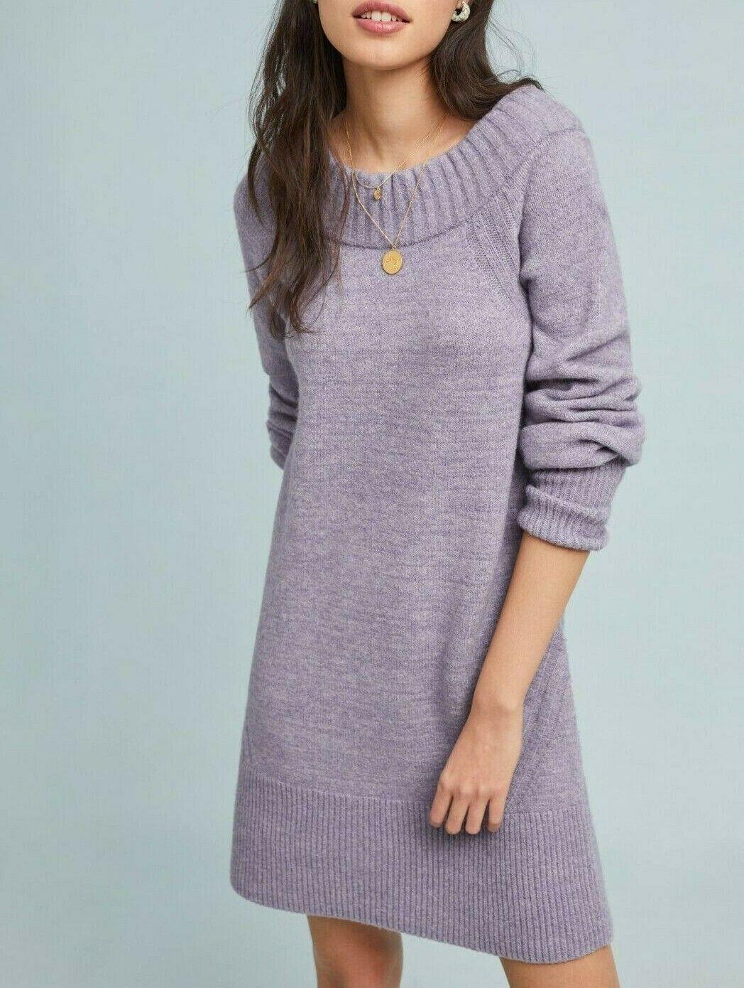 Anthropologie Rhyme Sweater Dress  Sz S - NWT