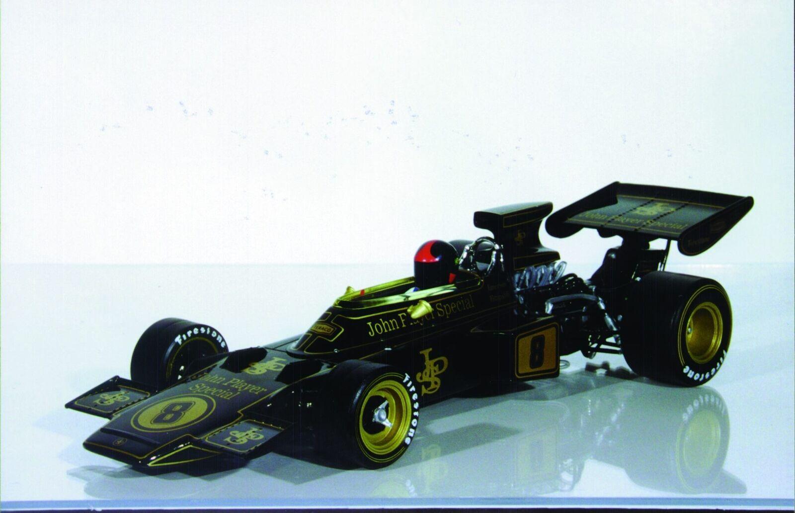 1:18 A Model Lotus 72D JPS '72 British Grand Prix  8 E. Fittipaldi