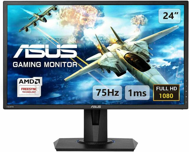 "ASUS VG245H 24"" Full HD TN LCD Widescreen Gaming Monitor (NO ADAPTER SUPPLY)"