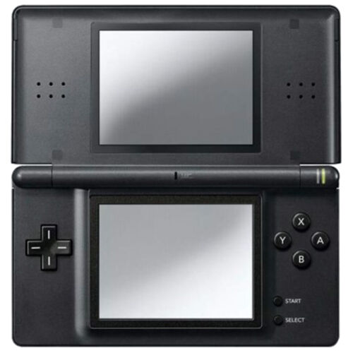 1 of 1 - Nintendo DS Lite Onyx Black Handheld System - COMPLETE, TESTED