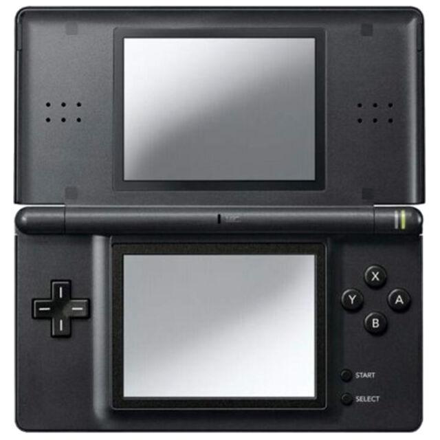 Nintendo DS Lite Onyx Black Handheld System - COMPLETE, TESTED