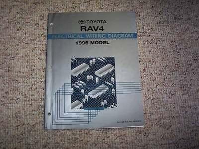 1996 toyota rav4 wiring diagram 1996 toyota rav4 electrical wiring diagram manual 4wd 2 0l 4cyl ebay  1996 toyota rav4 electrical wiring
