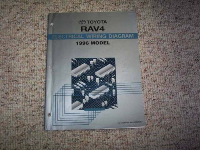 1996 Toyota Rav4 Electrical Wiring Diagram Manual 4wd 2 0l