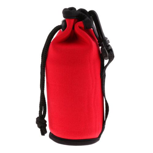500ml Water Bottle Carrier Insulated Neoprene Water Kettle Drawstring Holder