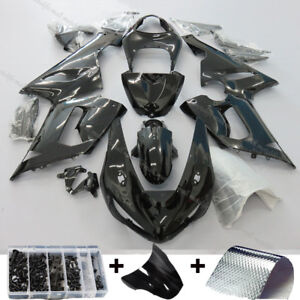 Gloss-Black-Injection-Fairing-Kit-Fit-KAWASAKI-NINJA-ZX6R-ZX-6R-2005-2006-ZX636C