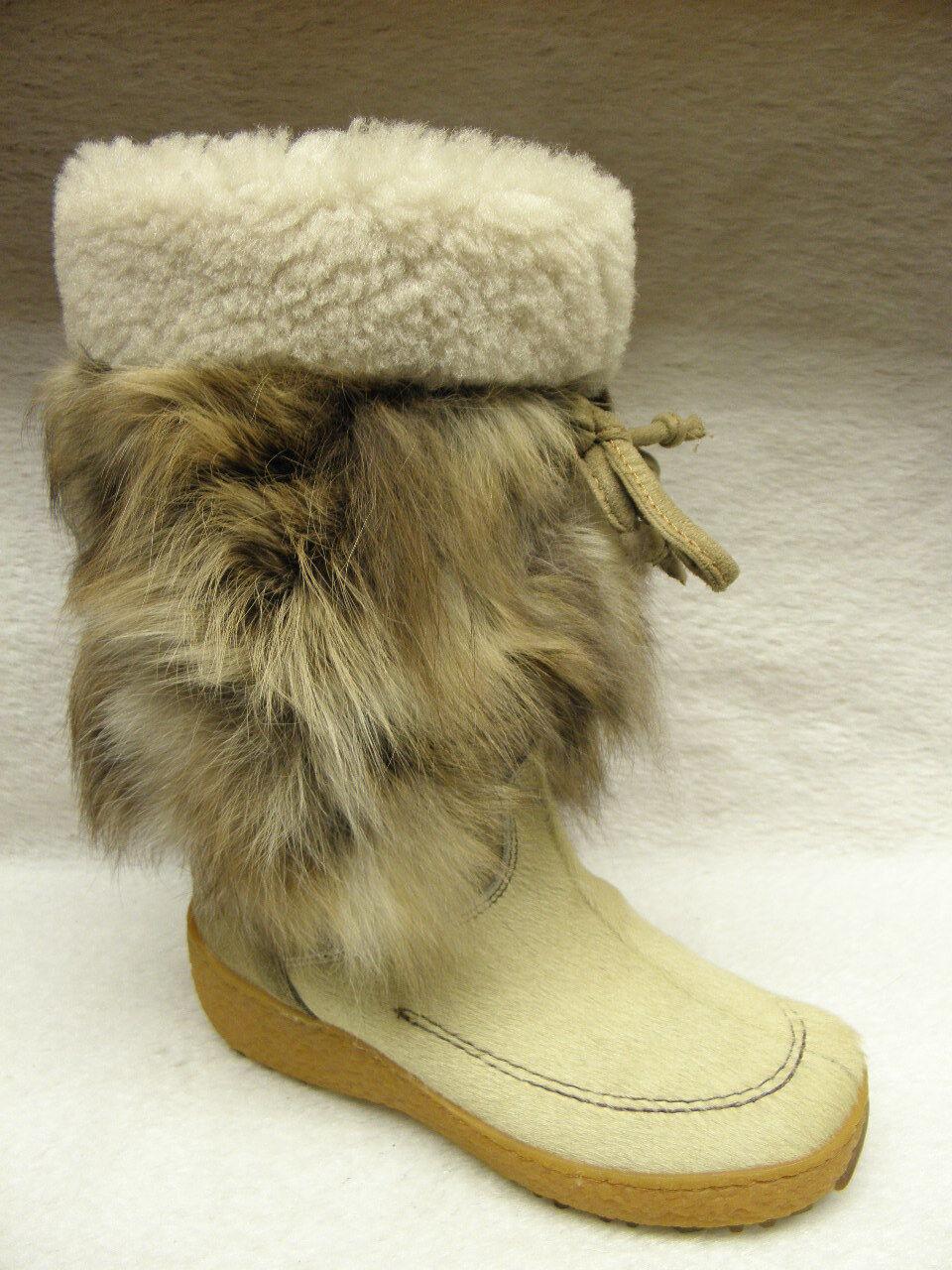 Grandes zapatos con descuento Oscar Sport ®  SALE  bisher 279,95   Fellstiefel Karin beige (D776)