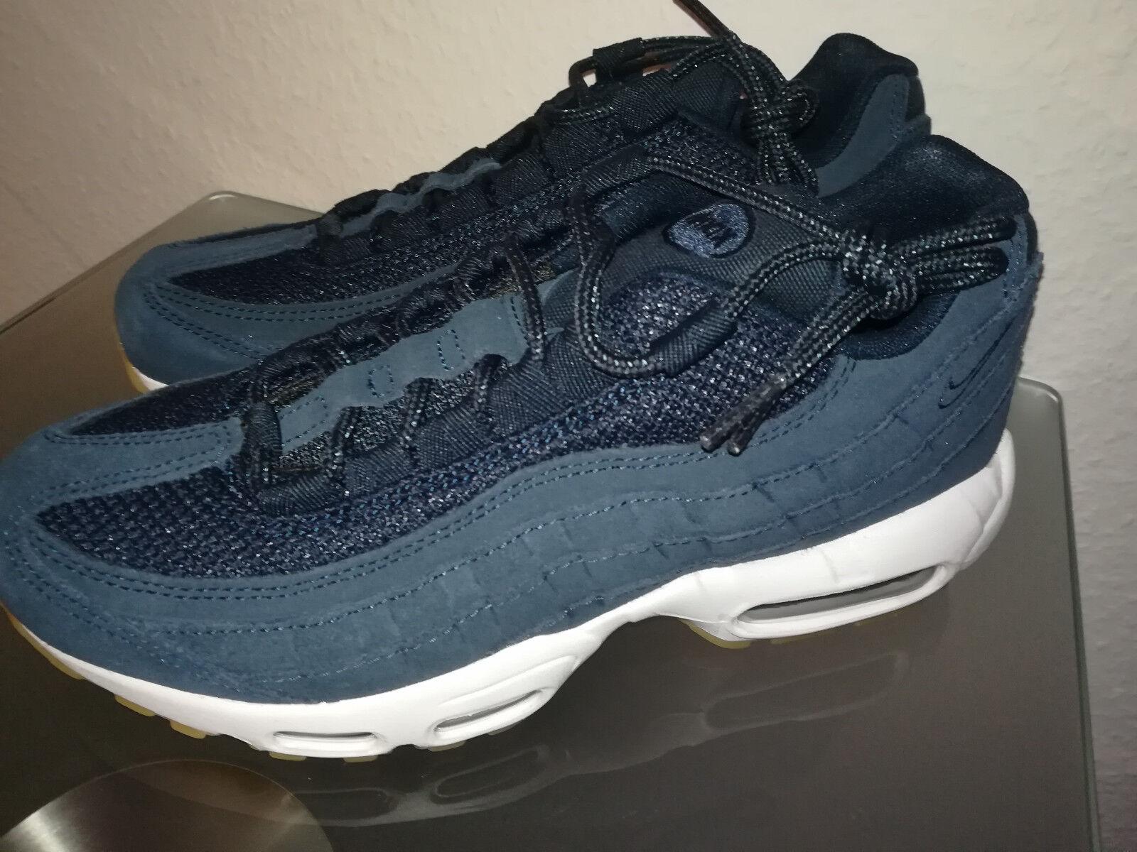 Herren Nike Air Max Neu 95 Premium 538416-402 Blau Schuhe Neu Max Gr.40 933542