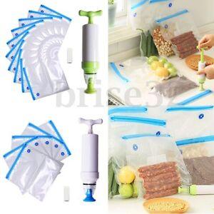 20PCS-Vacuum-Food-Storage-Bags-Sealer-Packaging-Manual-W-Hand-Pump-Kitchen-Tool