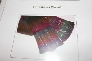 Jojoland Knitting Pattern Christmas Wreath Scarf Ebay