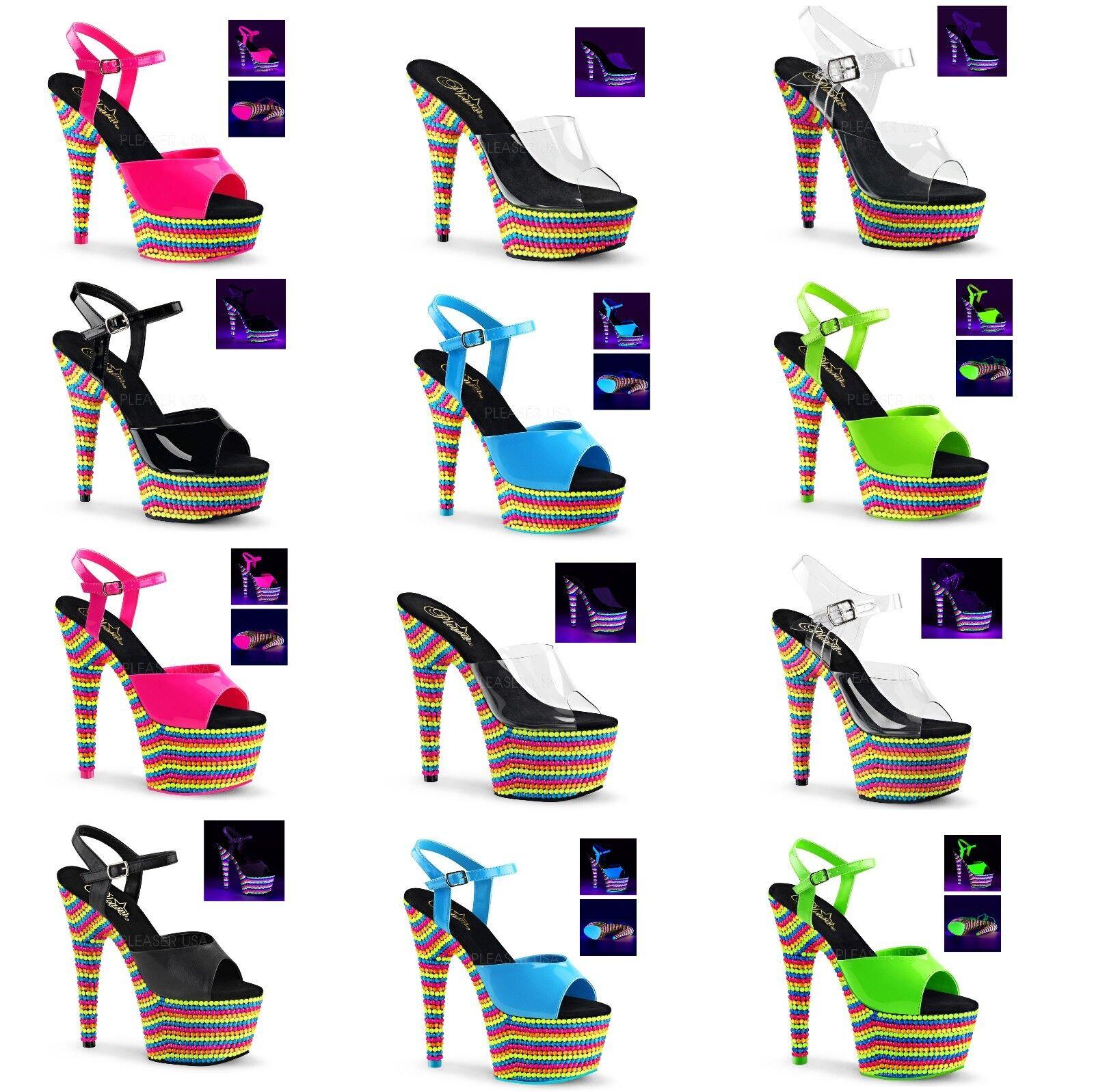 PLEASER ADORE 701RBS 708RBS 709RBS DELIGHT 601RBS 608RBS 609RBS Platform Sandal