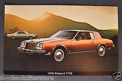 Original 1979 Buick Full Line Regular /& Deluxe Sales Brochure Lot of 2 79