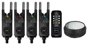Sonik-Gizmo-Bite-Alarms-Single-Set-of-2-3-or-4-Alarms-Receiver-Bivvy-Light