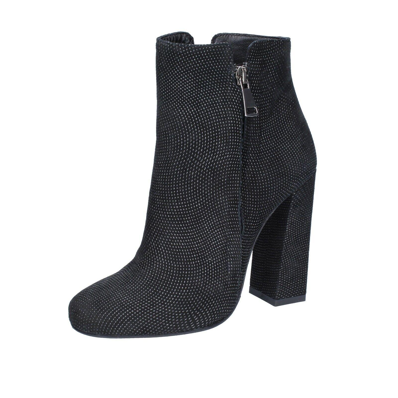 centro commerciale di moda Scarpe Scarpe Scarpe da donna Marc Ellis 37 UE STIVALETTI NERO CAMOSCIO bs599-37  servizio onesto