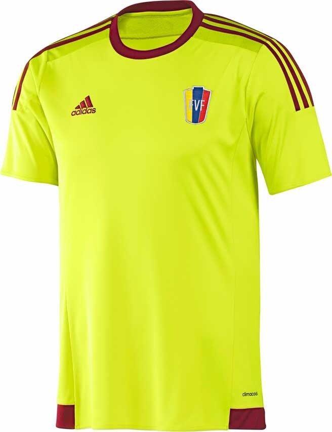 Jersey Soccer, Venezuela  Official TShirt, La Vinotinto FVF. Original Visitor