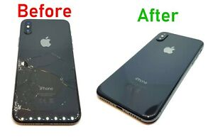 brand new 49547 e80f3 Details about iPhone 8 Plus Cracked Broken Back Glass Repair Service
