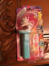 BRAND NEW MINT MEW Pokemon PEZ  Dispenser - Candy Catcher  1999 Nintendo - Japan