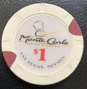 1-Casino-Chip-Monte-Carlo-Resort-amp-Casino-Las-Vegas-Nevada-Obsolete-H-amp-C